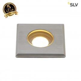 SLV 233550 DASAR LED MINI ingroundfitting, square, stainlesssteel 316, 2W LED, 3000K,