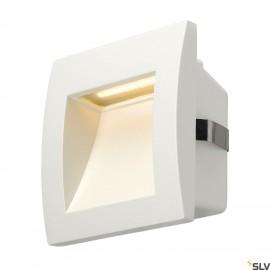 SLV 233601 DOWNUNDER OUT LED S recessedwall light, white, SMD LED3000K, IP55