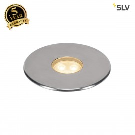 SLV 233676 DASAR Premium LED 100,inground fitting, round, 6W,60°, 3000K