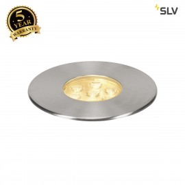 SLV 233722 DASAR Premium LED 150,inground fitting, round, 17W,24°, 3000K