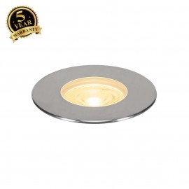 SLV 233762 DASAR Premium LED 180,inground fitting, round, 50W,24°, 3000K