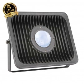 SLV 234325 MILOX floodlight, anthracite,4000K, 1 lens
