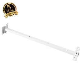 SLV 234351 Wall bracket for Outdoor Beamand MILOX floodlight, white,80cm