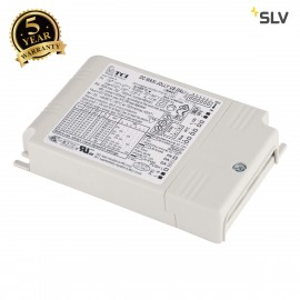 SLV 464032 TCI LED DRIVER, 50VA,350-1050mA, dip switch, incl.strain-relief, DALI dimmable