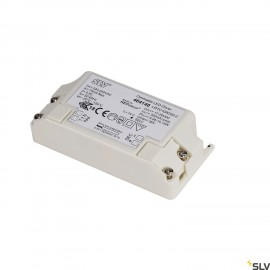 SLV 464140 LED DRIVER, 10W, 350mA, incl.strain-relief, dimmable