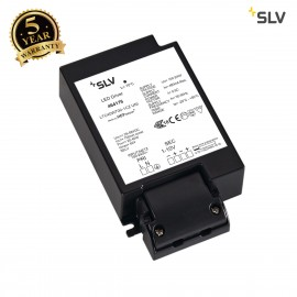 SLV 464176 LED DRIVER, 40W, 1000mA, incl.strain-relief, dimmable