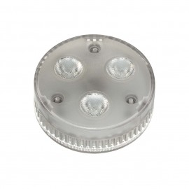 SLV 550092 GX53 LED lamp, 3x 1.4W, 3000KLED, 35° beam angle