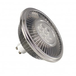 SLV 551644 LED ES111 lamp, silver-grey,17.5W, 30°, 4000K, dimmable