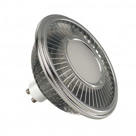 SLV 551652 LED ES111 lamp, silver-grey,17.5W, 140°, 2700K, dimmable