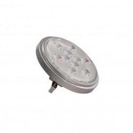 SLV 560624 LED QR111 G53 bulb, 13°, silvergrey, 4000K, 800lm