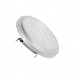 SLV 560642 QR111 Retrofit LED lamp, G53,2700K, 25°, silver-grey