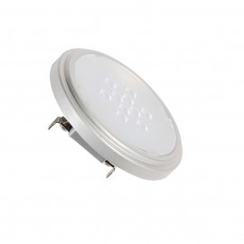SLV 560664 QR111 Retrofit LED lamp, G53,4000K, 40°, silver-grey