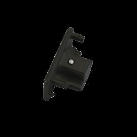 Knightsbridge TRKDEBK 230V Single Circuit Track Dead End Cap  Black