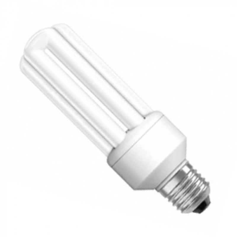 ES E27 23W Warm White Compact Fluorescent Lamp ES23CFW