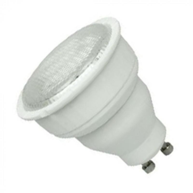 GU10 11W Cool White Compact Fluorescent Lamp GU1011CFC