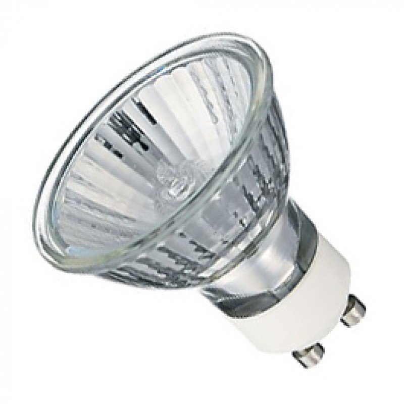 GU10 35W 50 Degree Warm White Halogen Lamp Pack Of 10 GU1035HLW