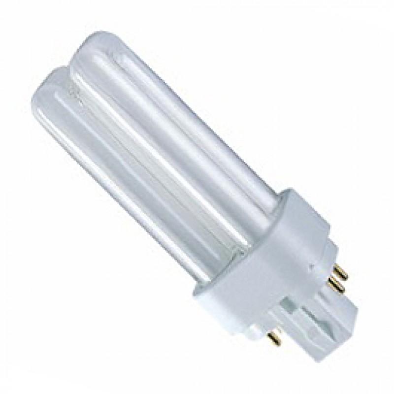 TC-DE G24q-1 13W Warm White Compact Fluorescent Lamp TCDE13CFW