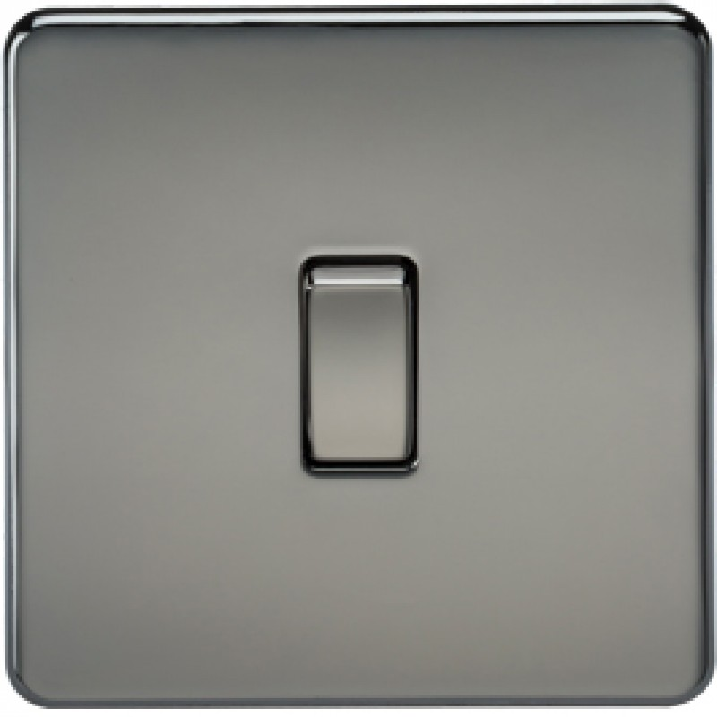 Knightsbridge SF1200BN 10A 1G Intermediate Switch Black Nickel