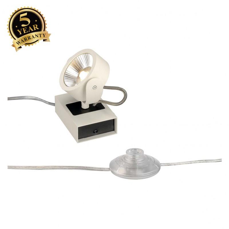 SLV 1000140 KALU LED 1 FLOOR Floor luminaire, white/black, 3000K, 60°