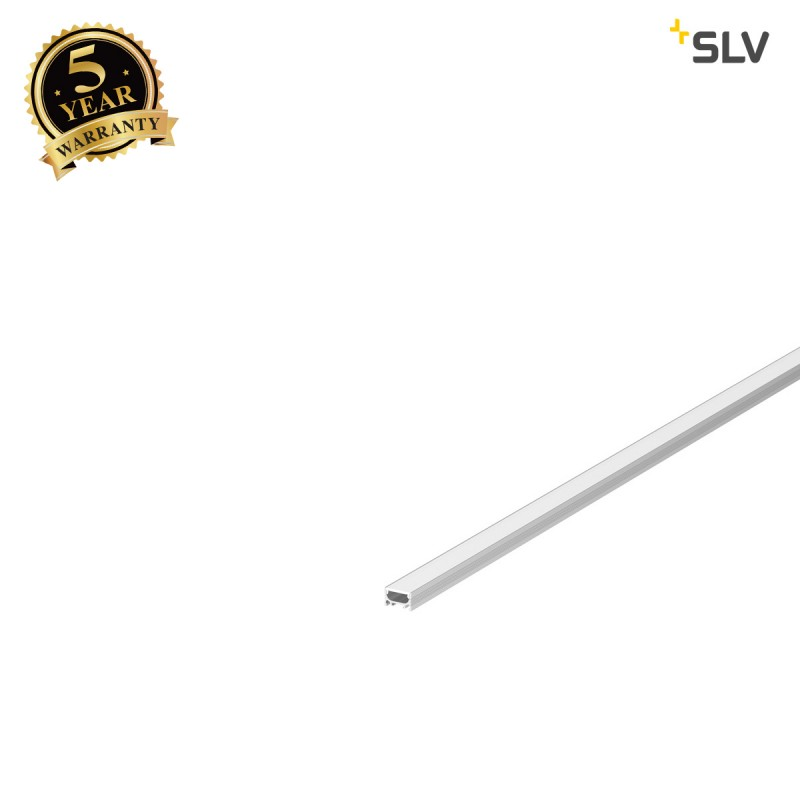 SLV 1000460 GRAZIA 10 LED Surface profile, flat, grooved, 2m, alu