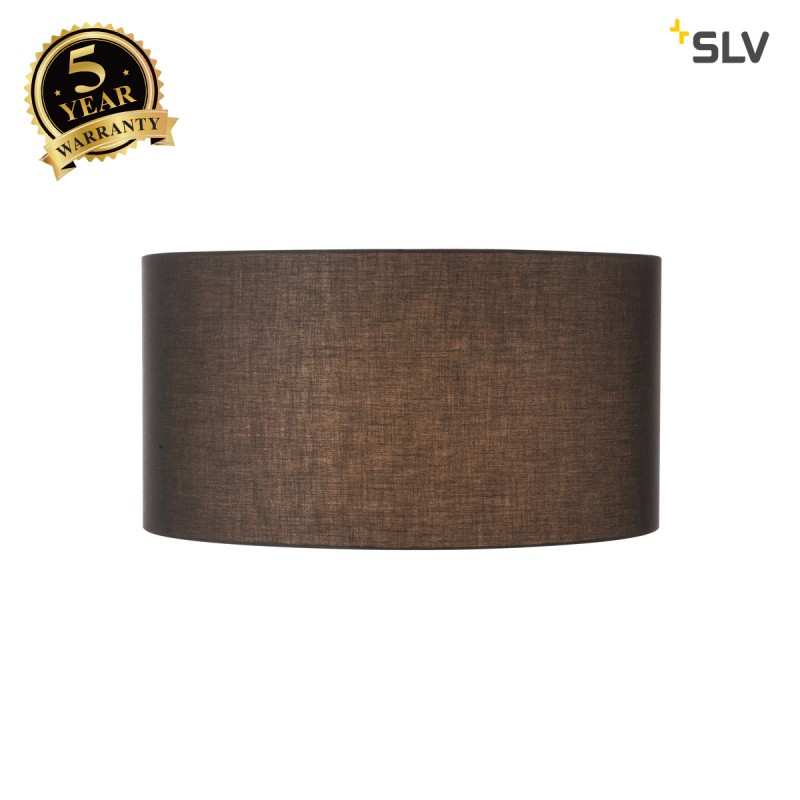 SLV 1000578 FENDA shade, black, Ø70cm