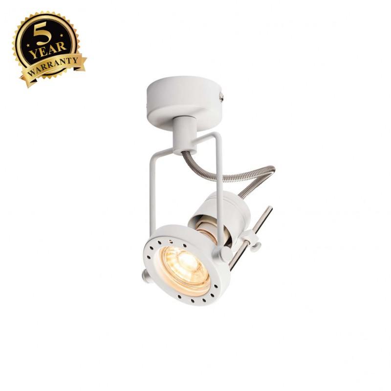 SLV 1000705 N-TIC SPOT QPAR51 Wall and Ceiling luminaire, black, max. 50W