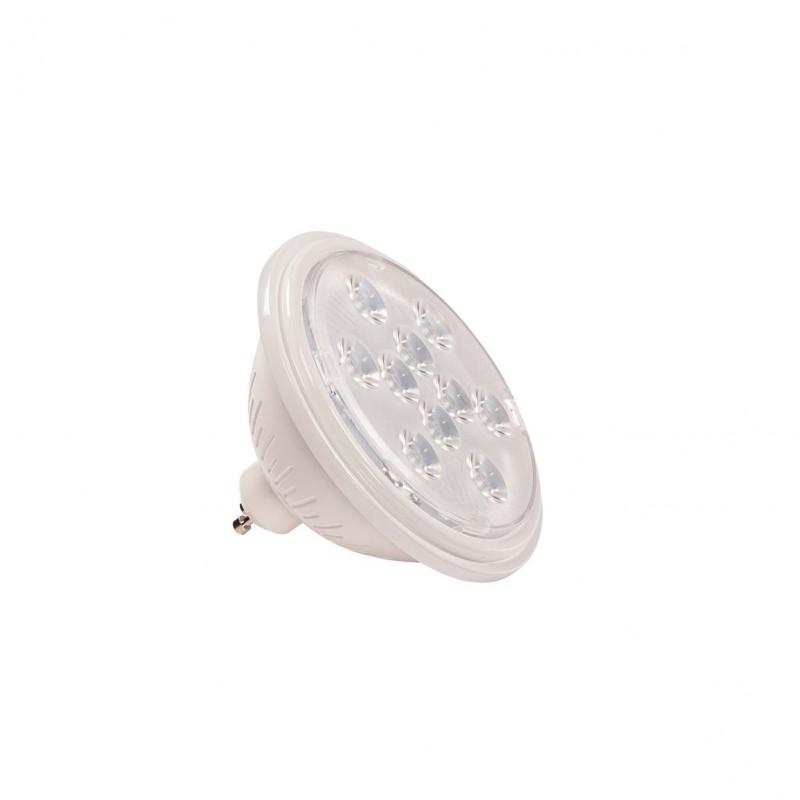 SLV 1000941 LED QPAR111 GU10 Bulb, 13°, white, 2700K, 730lm