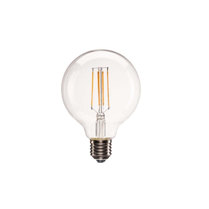 SLV 1001035 E27 LED G95 Bulb, 330°, 2700K, 806lm, dimmable