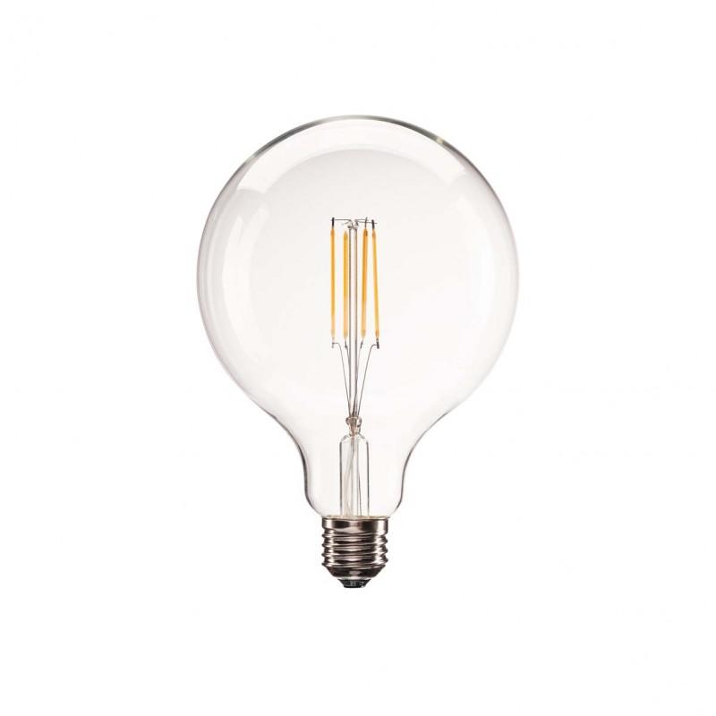 SLV 1001038 E27 LED G125 Bulb, 330°, 2700K, 806lm, dimmable