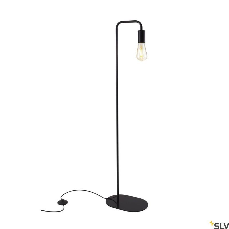 Intalite 1002146I FITU WL, indoor floor stand, E27, black, max. 24W