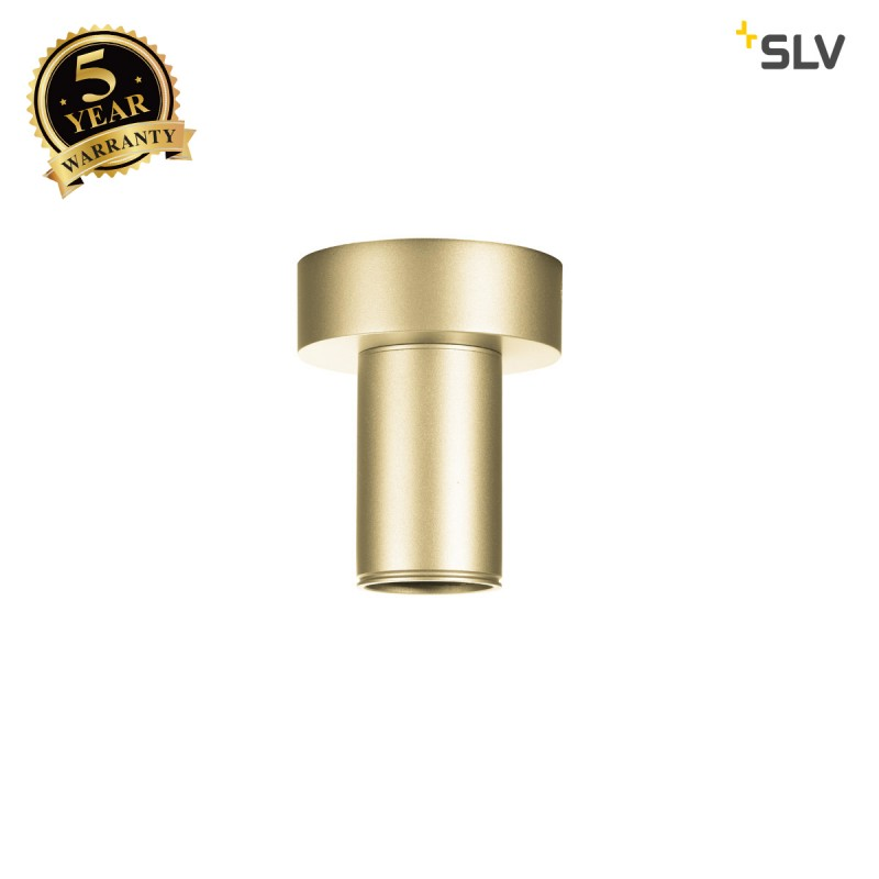 Intalite 1002166I FITU CL E27, Indoor surface-mounted ceiling light, soft gold, max. 60W