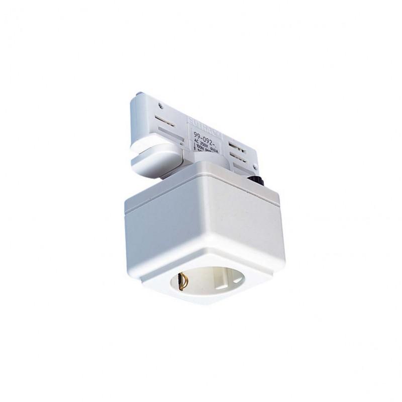 SLV 145701 EUTRAC power socket adapter,white