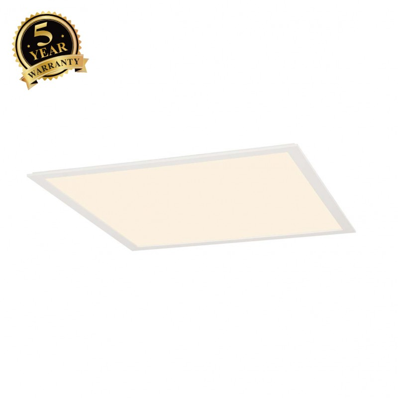 SLV 158602 LED PANEL recessed ceilinglight, white, 230V, 2700K,595x595mm