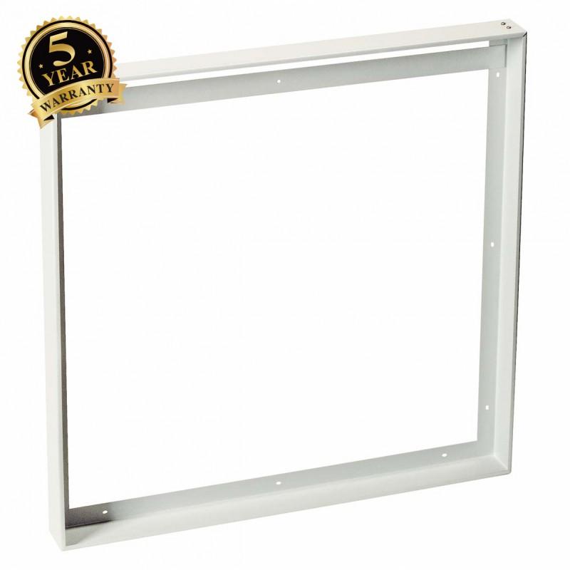 SLV 158762 Installation frame for squareLED Panels measuring 595x595mm, matt white