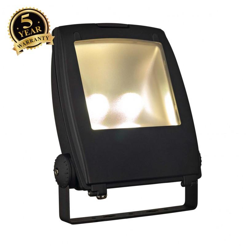 SLV 231173 LED FLOOD LIGHT, matt black,80W, 3000K, 90°, IP65