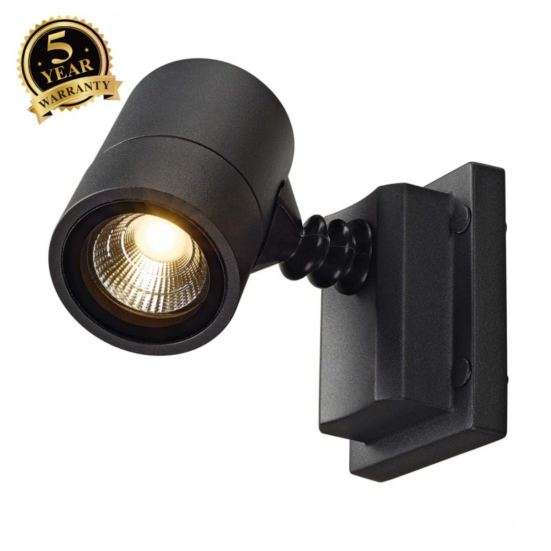 SLV 233205 MYRALED WALL, wall light,anthracite, 5W, 3000K, IP55