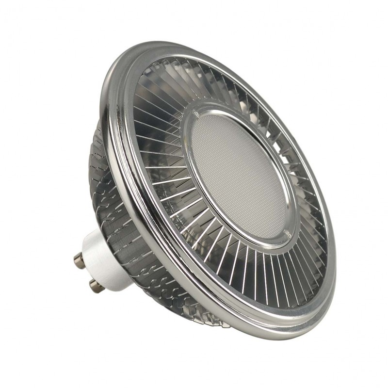 SLV 551654 LED ES111 lamp, silver-grey,17.5W, 140°, 4000K, dimmable