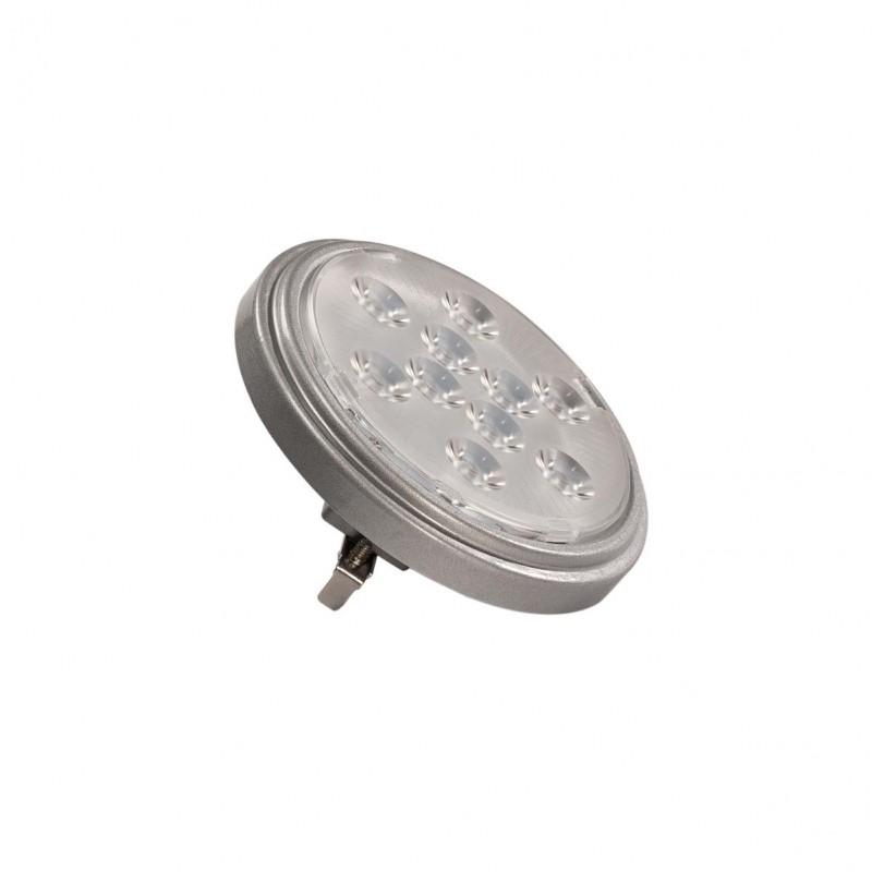 SLV 560622 LED QR111 G53 bulb, 13°, silvergrey, 2700K, 800lm