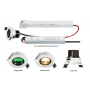 Knightsbridge ENM5 230V IP20 5W LED  Emergency Downlight 6000K (non-maintained use only)
