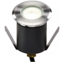 Knightsbridge LEDM07W 230V IP65 1.5W 4000K High Output LED White Mini Ground Light comes with cable. Non-Dimmable